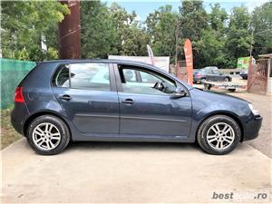 VW GOLF 5 -1,4 Benzina  - RATE FIXE , EGALE , FARA AVANS , EURO 4 , CLIMA  - imagine 7