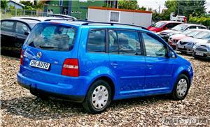 VW TOURAN 7 LOCURI - 2.0 TDI - 140 C.P. - EURO 4 - vanzare in RATE FIXE cu avans 0%. - imagine 6