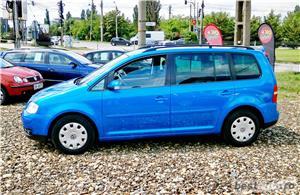 VW TOURAN 7 LOCURI - 2.0 TDI - 140 C.P. - EURO 4 - vanzare in RATE FIXE cu avans 0%. - imagine 7