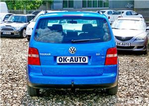 VW TOURAN 7 LOCURI - 2.0 TDI - 140 C.P. - EURO 4 - vanzare in RATE FIXE cu avans 0%. - imagine 5