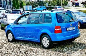 VW TOURAN 7 LOCURI - 2.0 TDI - 140 C.P. - EURO 4 - vanzare in RATE FIXE cu avans 0%. - imagine 4