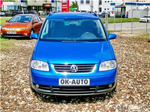 VW TOURAN 7 LOCURI - 2.0 TDI - 140 C.P. - EURO 4 - vanzare in RATE FIXE cu avans 0%. - imagine 2