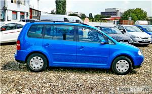 VW TOURAN 7 LOCURI - 2.0 TDI - 140 C.P. - EURO 4 - vanzare in RATE FIXE cu avans 0%. - imagine 8