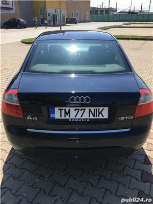 Audi A4 1,9 TDI Dublu Klimatronic Xenon - imagine 6