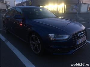 Audi A4 pachet Sline interior exterior - imagine 8