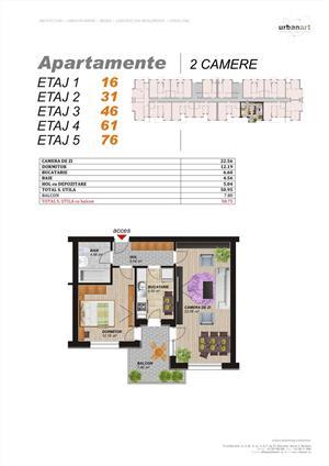 Apartament 2 camere 2 minute de Metrou Dimitrie Leonida - imagine 4