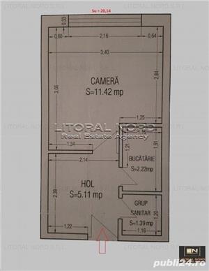 Cet, garsoniera 20mp utili, etaj 2/4, incadrata, izolata exterior - imagine 13