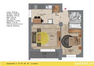 Metrou Berceni 50metri - Apartament 2 camere 57mp - Str. Biruintei - imagine 4