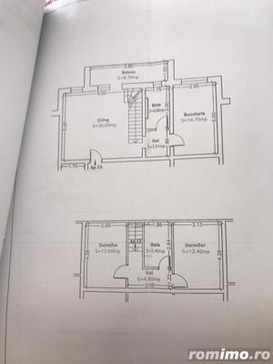 3 camere pe 2 nivele, bucatarie separata, mobilat si utilat - imagine 10