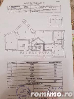 Apartament 3 camere  în zona Cosbuc/Rond - imagine 8