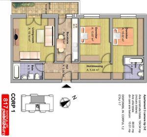 Apartament 3 camere,decomandat,finisaje premium,89 mp utili,Pantelimon - imagine 4