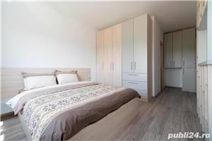 Apartament 3 camere, la cheie, cu 2 balcoane,89,81 mp utili,Fundeni,Dobroesti - imagine 2