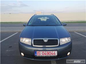 Skoda Fabia 2006 1.4 Benzina 75CP Jante Klima Senzori Parcare FULL - imagine 2