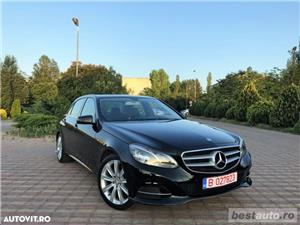 Mercedes-Benz E 250 4MATIC // 2.2 CDi 204 CP // Navigatie Mare 3D // Led-uri Fata/Spate .  - imagine 1