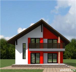 Proiect tehnic de executie casa 125 mp utili (fara terase si balcoane) - imagine 1