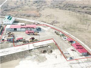 Urgent, Navodari, vand/ inchiriez hala, teren 4950 mp - imagine 2