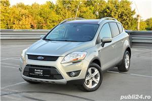 Ford Kuga Titanium 2.0Tdci 140C.p Automata PowerShift 4X4/Creditare Auto - imagine 2