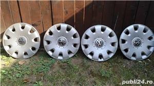 """Capace roti originale Volkswagen pe 15""""  - imagine 2"""