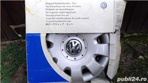 """Capace roti originale Volkswagen pe 15""""  - imagine 1"""