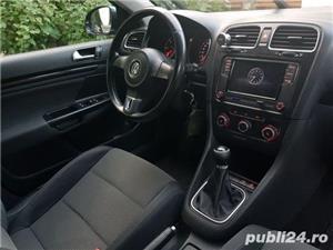 Vw Golf 6 VI 1.6 diesel comfortline euro 5 bluemotion volkswagen inmatriculata - imagine 6