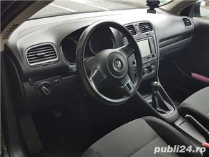 Vw Golf 6 VI 1.6 diesel comfortline euro 5 bluemotion volkswagen inmatriculata - imagine 5