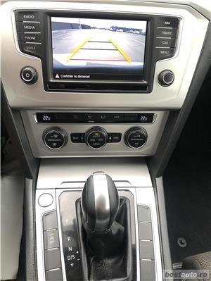 Vw Passat 2016 2.0 TDI 150 CP DSG * Auto Pt Pretentiosi * Park Asist * - imagine 9