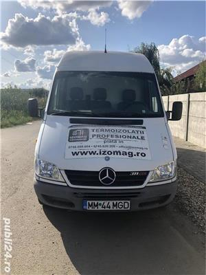 Doar 276.000km REALI 100%!! Mercedes Sprinter 311 CDI, 2004, functioneaza excelent! - imagine 4