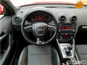 Audi A3,GARANTIE 3 LUNI,BUY-BACK,RATE FIXE,motor 2000 TDI,170 CP,model S line,Automat - imagine 7