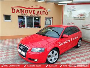 Audi A3,GARANTIE 3 LUNI,BUY-BACK,RATE FIXE,motor 2000 TDI,170 CP,model S line,Automat - imagine 1
