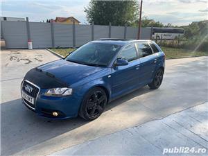 Audi A3 S-Line Sportback 2.0 TDI 6+1 Trepte Adus Acum UK - imagine 2