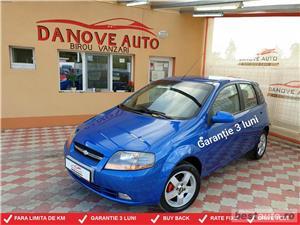 Chevrolet Kalos,GARANTIE 3 LUNI,BUY BACK,RATE FIXE,motor 1400 cmc,95 Cp,Clima. - imagine 1