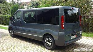 Opel vivaro 2.0,115 cp.,model lung,8+1 locuri,Clima - imagine 3