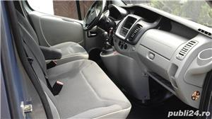 Opel vivaro 2.0,115 cp.,model lung,8+1 locuri,Clima - imagine 6