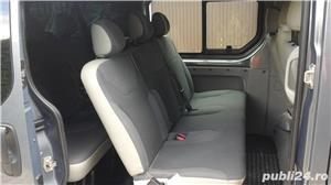 Opel vivaro 2.0,115 cp.,model lung,8+1 locuri,Clima - imagine 7