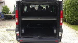 Opel vivaro 2.0,115 cp.,model lung,8+1 locuri,Clima - imagine 8