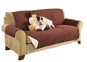 Husa de protectie pentru canapea - protejeaza impotriva petelor lasate de animalele de companie - imagine 1