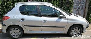 vand Peugeot 206 an 2006 1.4 diesel consum mic - imagine 1