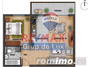 Apartament 2 camere, 53 mpu | Comision 0% - imagine 2