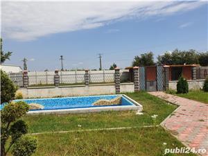 Vila zona C.Sintandrei , SC 384 mp , teren 2600 , la rosu , piscina , gas , apa , canal in derulare  - imagine 7