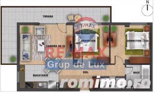 Apartament super modern cu 3 camere   Terasa 20.2 mp   Cluj - imagine 2