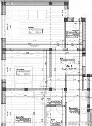 Calea Timișoarei, ap. 3 camere finalizat-75000 euro - imagine 3