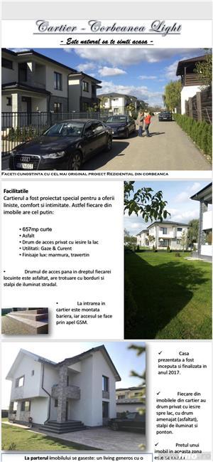 "Vile de vanzare in ""Rezidential Corbeanca light"" - imagine 9"