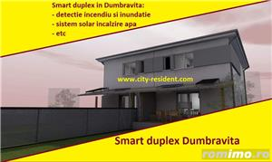 CITY RESIDENT - Smart duplex in dumbravita, dotari exceptionale/ unice, de vanzare 1/2 duplex  - imagine 1