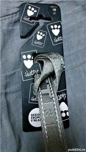 NOUA Lesa HURTTA Casual Reflective Leash pentru caini de talie MEDIE sau MARE NOUA cu eticheta - imagine 6