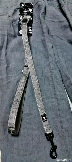 NOUA Lesa HURTTA Casual Reflective Leash pentru caini de talie MEDIE sau MARE NOUA cu eticheta - imagine 2