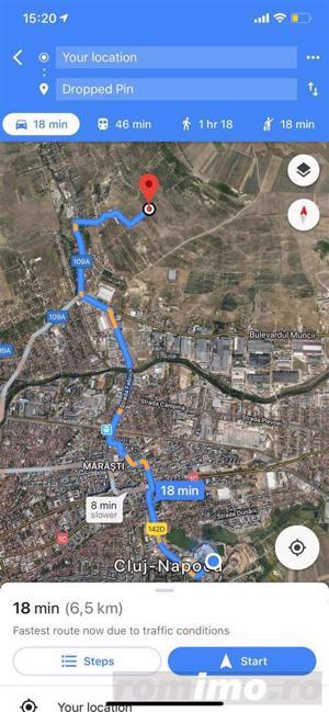 Teren 1500 mp,Zona B-dul muncii,parcelabil - imagine 3