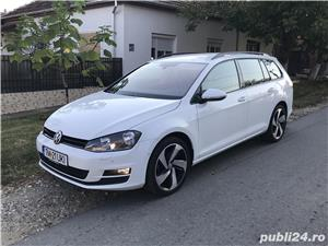 Golf 7 , 135000 km , istoric VW , an 2014 , piele/navi/masaj/parkpilot - imagine 4