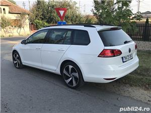 Golf 7 , 135000 km , istoric VW , an 2014 , piele/navi/masaj/parkpilot - imagine 2