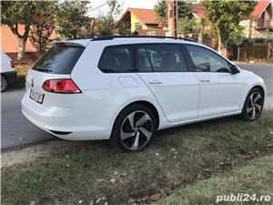 Golf 7 , 135000 km , istoric VW , an 2014 , piele/navi/masaj/parkpilot - imagine 3