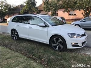 Golf 7 , 135000 km , istoric VW , an 2014 , piele/navi/masaj/parkpilot - imagine 1